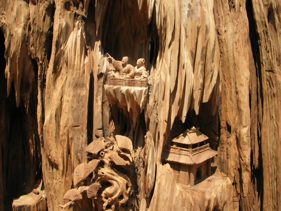 Close up of prior tree root from Guilin