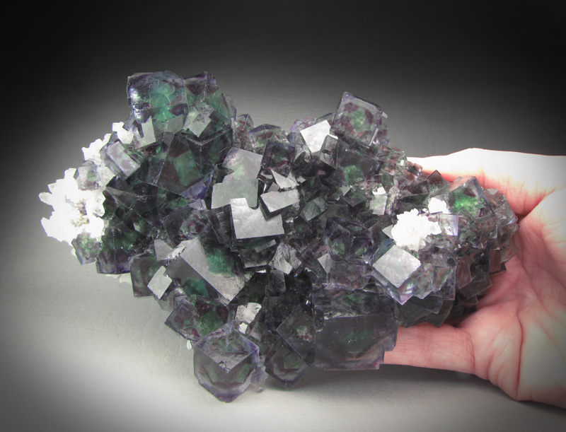 A green fluorite specimen from the A Pit