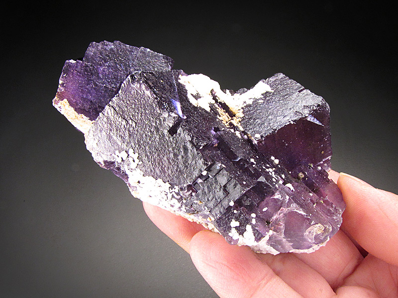 Fluorite with Celestine Denton Mine Cave-In-Rock Hardin County Illinois Mineral Specimen For Sale