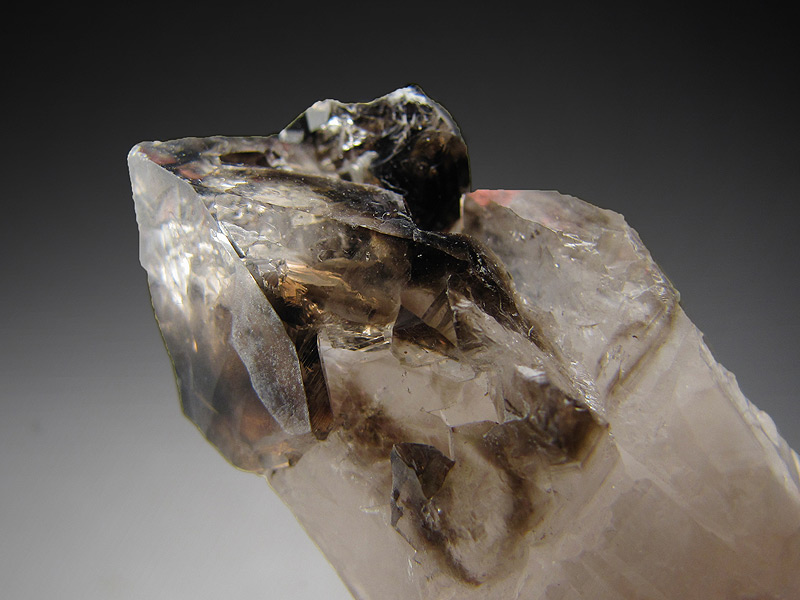 Smokey Quartz Scepter Orange River Namaqualand Northern Cape Province South Africa Mineral Specimen For Sale