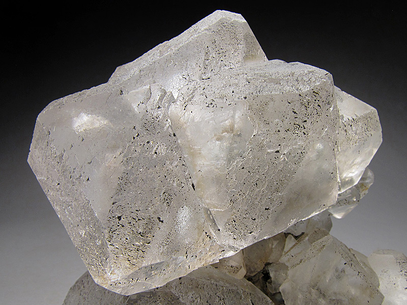 Clear Fluorite Crystals Huanggang Mine Hexigten Banner Ulanhad League Inner Mongolia A.R. China Mineral Specimen For Sale