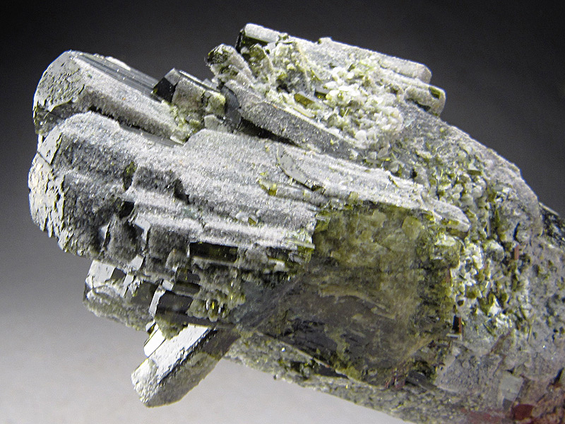 Epidote Crystal Pakot Northern Frontier North Eastern Province Kenya Mineral Specimen For Sale