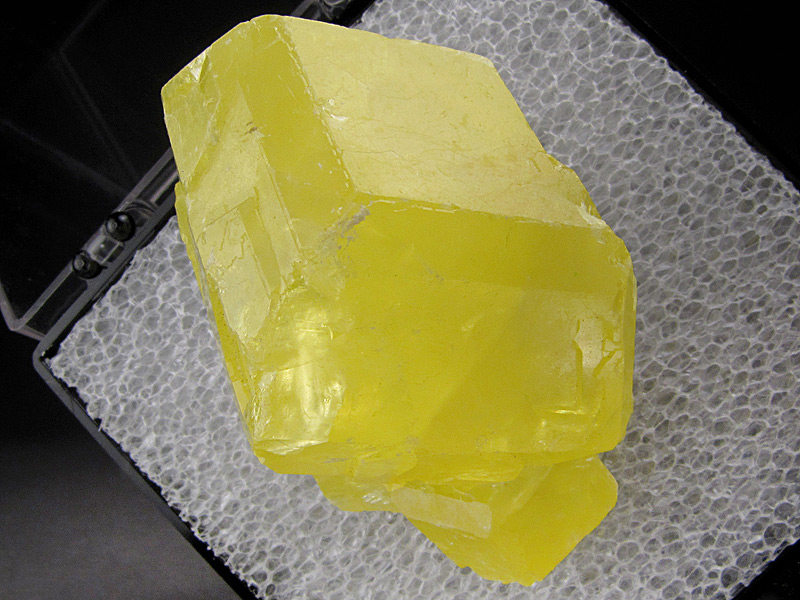Sulfur Girgenti Agrigento Province Sicily Italy Mineral Specimen For Sale
