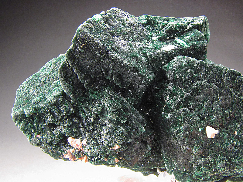 Malachite After Azurite Crystals Milpillas Mine Cuitata Municipio de Cananea Sonora Mexico Mineral Specimen For Sale
