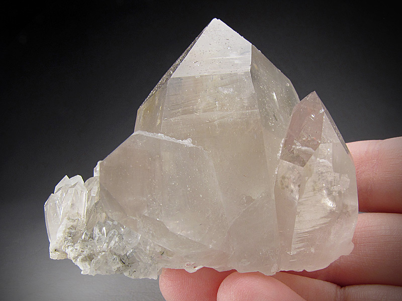 Quartz Japan Law Twin Crystal PC Mine Cataract District Jefferson County Montana Mineral Specimen For Sale