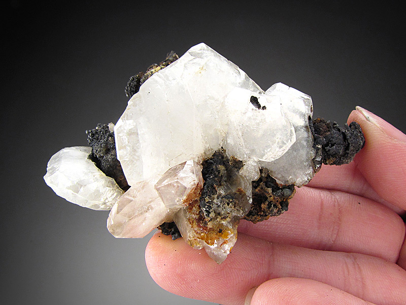 Calcite Crystals San Martin Mine Somberete Zacatecas Mexico Mineral Specimen For Sale