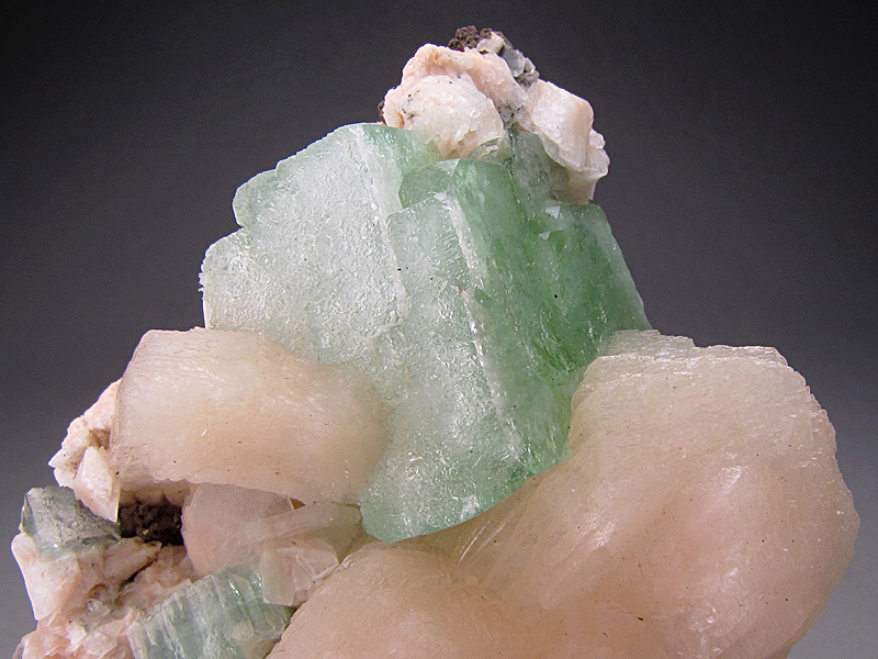 Apophyllite and Stilbite Crystals Chalisgaon Jalgaon District Maharashtra India Mineral Specimen For Sale