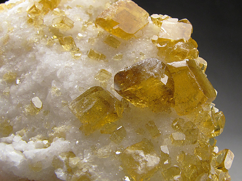 Golden Barite on Quartz Xiefang Mine Ruijin County Ganzhou Prefecture Jiangxi Province China Mineral Specimen For Sale