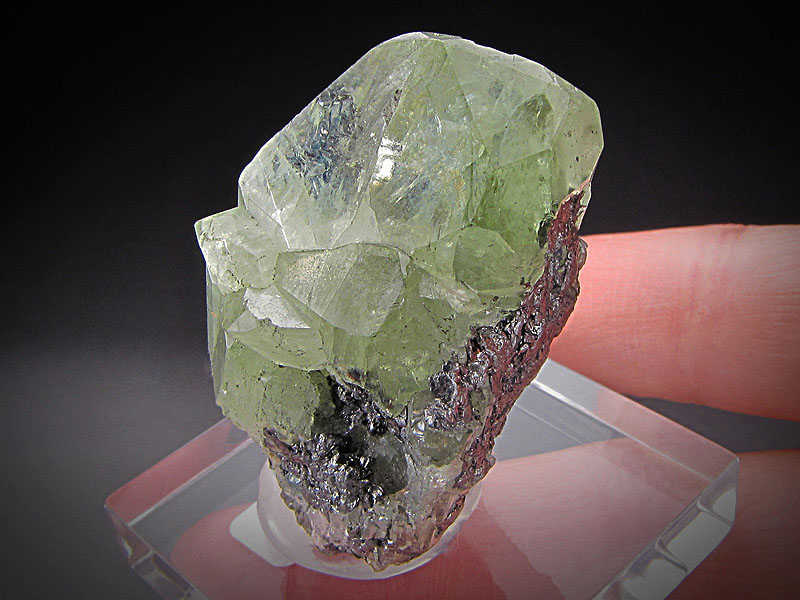 Mineral Specimen Diopside Crystals Merelani Hills Lelatema Mountains Arusha Region Tanzania Green For Sale
