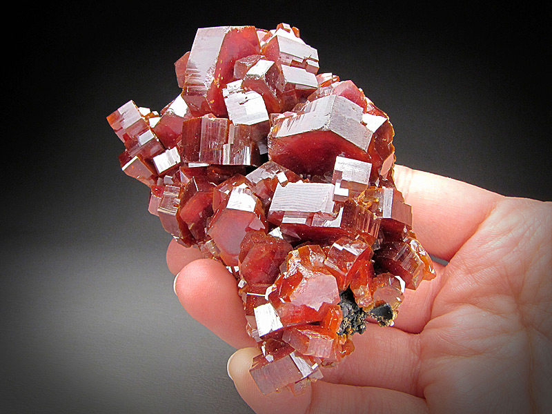 Mineral Specimen Vanadinite Crystals ACF Mine Mibladen Atlas Mountains Morocco For Sale