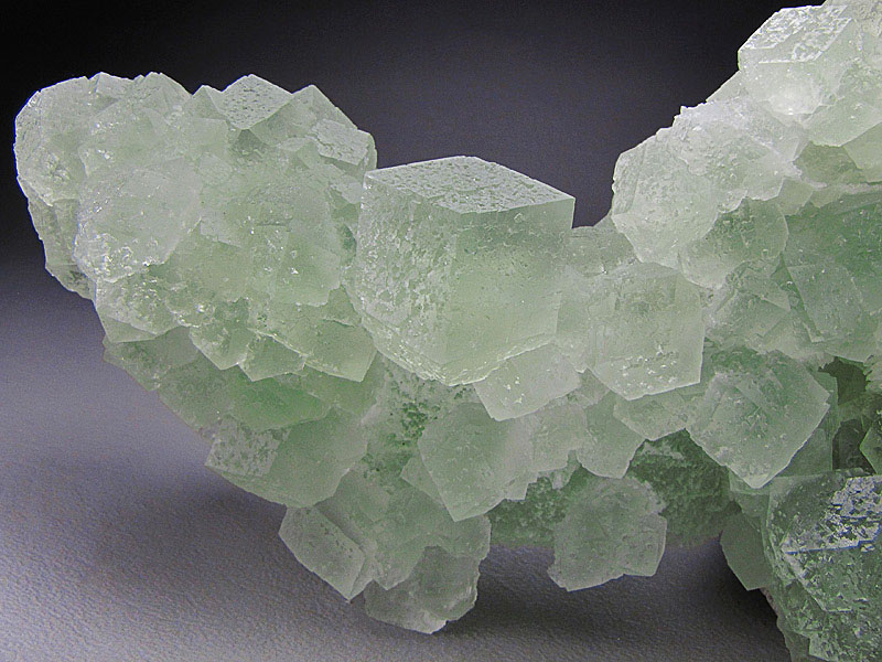 Mineral Specimen Green Fluorite Crystals Xianghualing Mine Xianghualing Ore Field Chenzhou Prefecture Hunan Province China For Sale