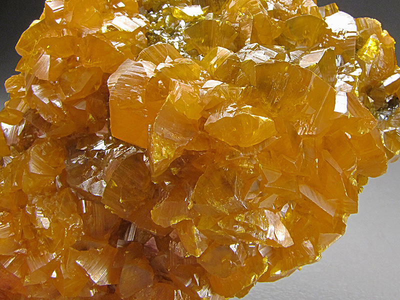 Mineral Specimen Orpiment Crystals Cut 62 Twin Creeks Mine Potosi District Humboldt County Nevada For Sale