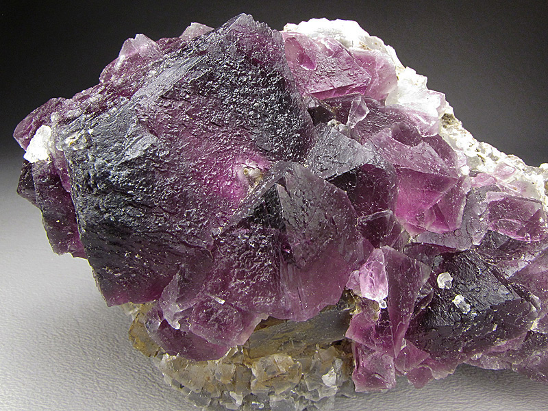 Mineral Specimen Octahedral Fluorite Cooks Peak Luna County New Mexico For Sale