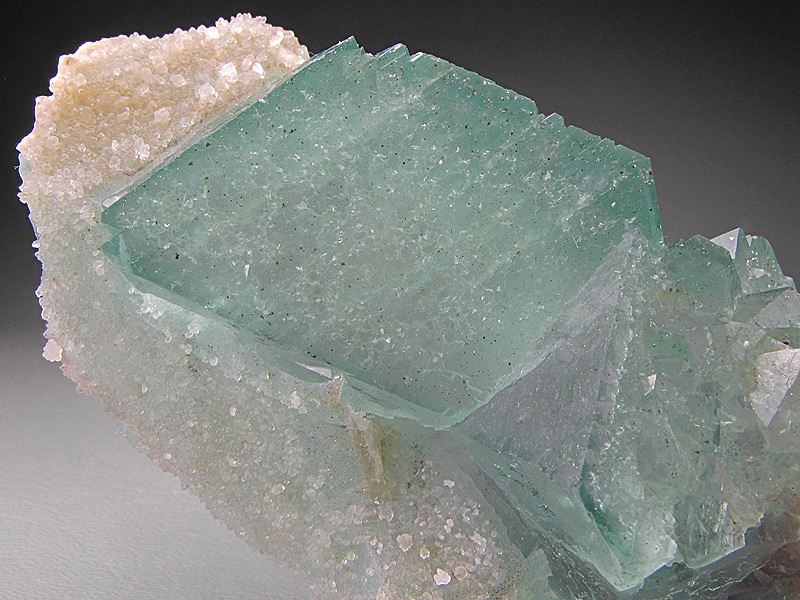 Fluorite and Quartz Crystals Riemvasmaak Kakamas District Northern Cape Province South Africa Mineral Specimen For Sale