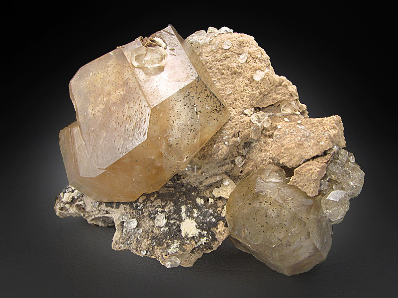 Calcite Crystals Berry Materials Quarry North Vernon Jennings County Indiana Mineral Specimen For Sale