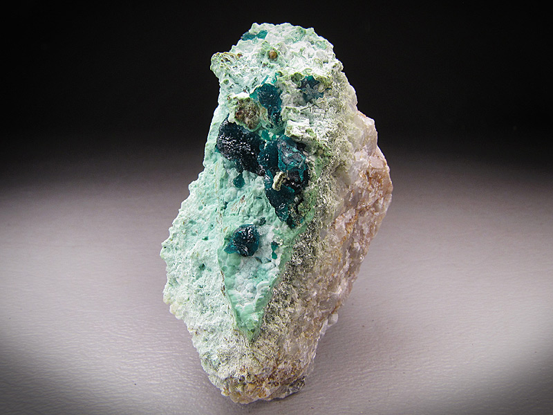 Dioptase Crystals on Matrix Ray Mine Pinal County Arizona Mineral Specimen For Sale