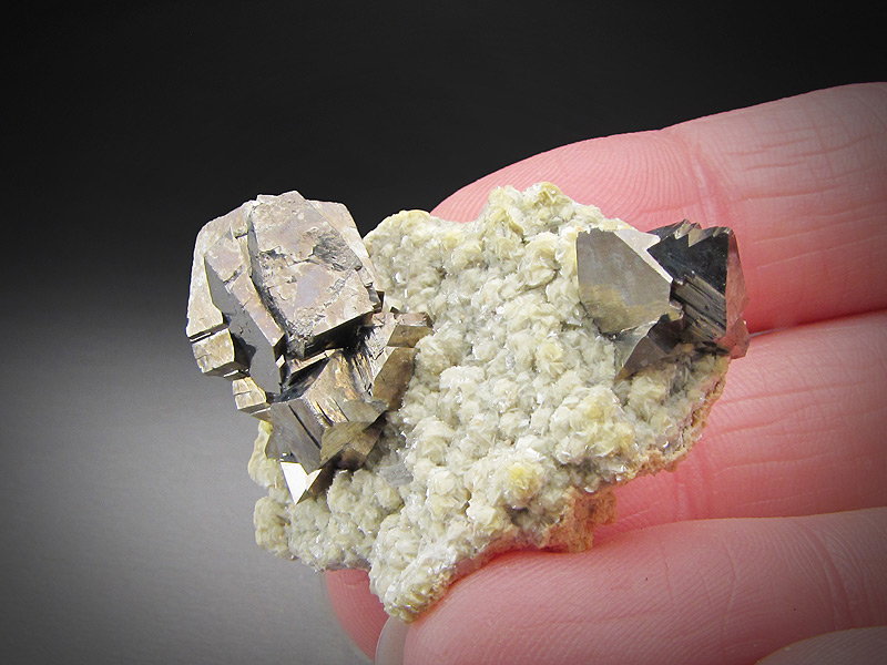 Arsenopyrite Crystals Yaogangxian Mine Yizhang County Chenzhou Prefecture Hunan Province China Mineral Specimen For Sale