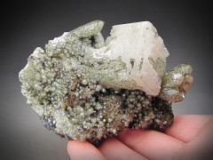 Calcite and Quartz, Naica, Mexico
