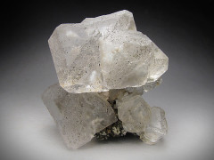 Clear Fluorite Crystals, Huanggang Mine, Inner Mongolia, China
