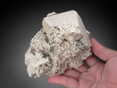 Microcline Crystal, Pipestone Pass, Montana