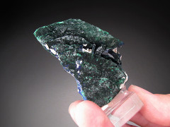 Malachite After Azurite Crystals, Milpillas, Mexico
