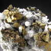 Chalcopyrite and Calcite Crystals, Piedras Verde, Mexico