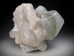 Stilbite and Apophyllite Crystals, Nashik, India