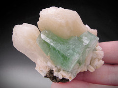Apophyllite and Stilbite on Matrix, Chalisgaon, India