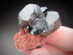 Hematite and Andradite Crystals, N'Chwaning II Mine, South Africa