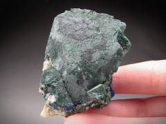 Malachite after Azurite, Tsumeb Mine, Namibia