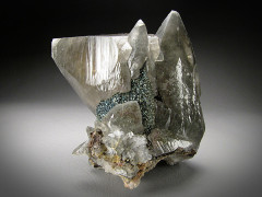 Calcite with Marcasite, Brushy Creek Mine, Missouri