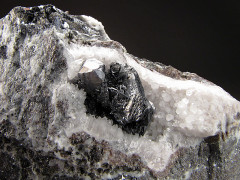 Polybasite with Acanthite Crystals, Guanajuato, Mexico
