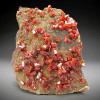 Vanadinite Crystals, Grey Horse Mine, Arizona