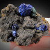 Azurite Crystals, Morenci, Arizona