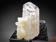 Danburite with Calcite Crystals, Charcas, San Luis Potosi, Mexico