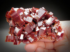 Vanadinite Crystals, Mibladen, Atlas Mountains, Morocco