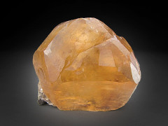 Golden Calcite, Cave-in-Rock, Illinois