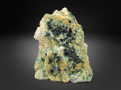 Deep-Green Libethenite, Old Reliable Mine, Arizona