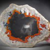 Orange-Red Banded Agate, Kentucky