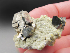 Arsenopyrite Crystals, Yaogangxian Mine, Hunan Province, China