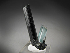 Tourmaline and Aquamarine Crystals, Erongo Mountains, Namibia
