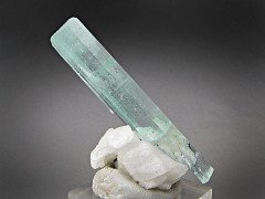 Aquamarine Crystal on Feldspar, Erongo Mountains, Namibia